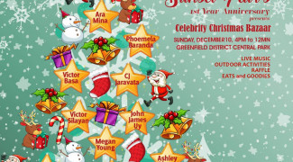 Stars celebrate 1st anniversary of Greenfield District's Sunset Fair with a Celebrity Christmas Bazaar